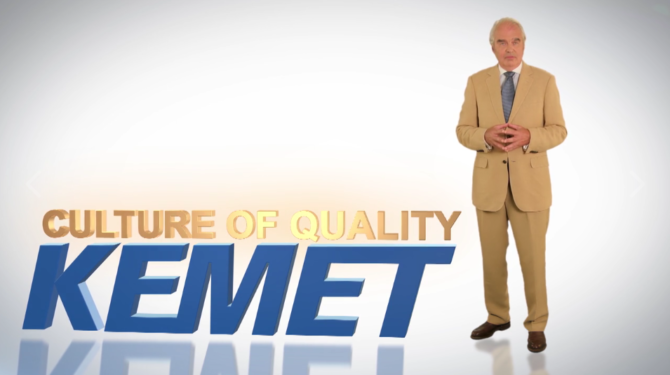 KEMET – Culture of Quality
