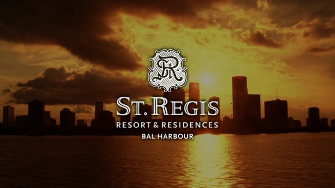 St. Regis – Resort and Residences Sales Video
